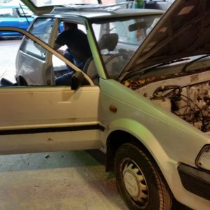 bodywork restoration services and crash repairs cork